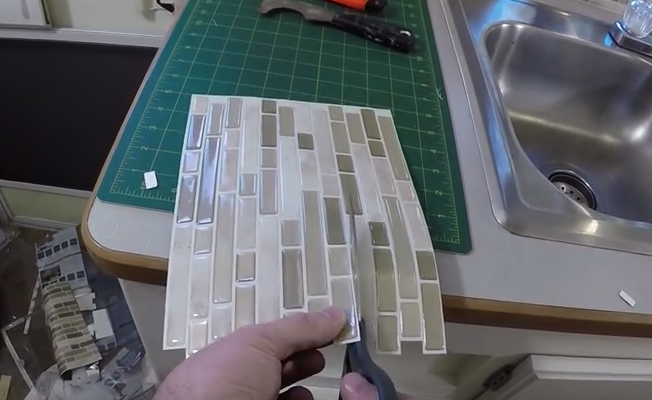 Installing Smart Tiles Is Just This Easy – Because You Deserve A Better Looking Backsplash
