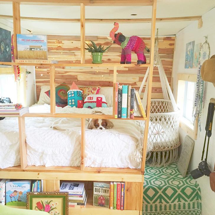 WildGypsyCaravan-bedroom