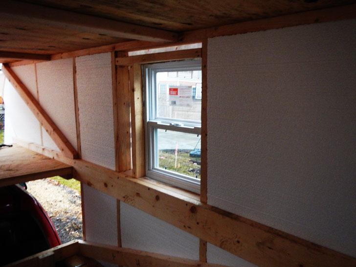 window inside camper