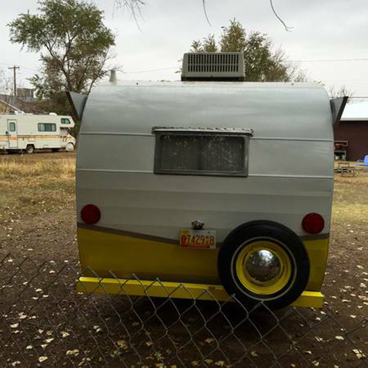 1962 Shasta Astrodome Trailer Offers Some Unique Features