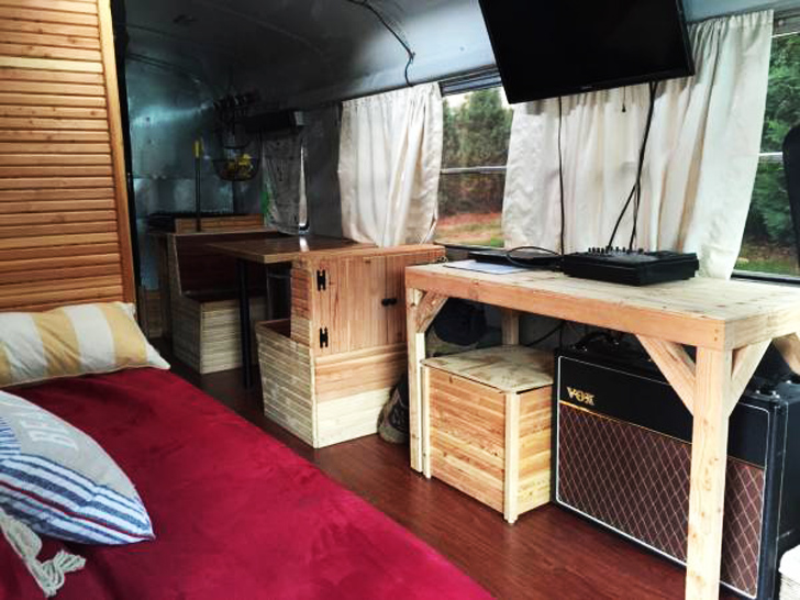 Craigslist Bus Conversion A Great Full Time Home