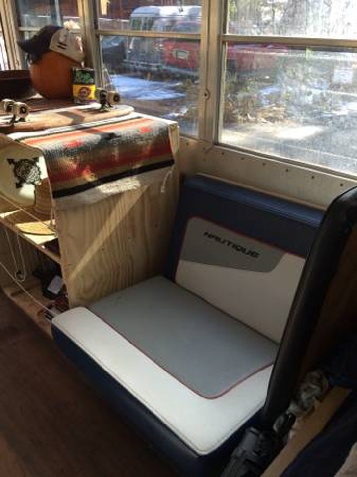 small bus seat