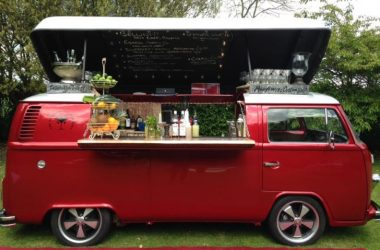 This Pop-Top Vintage Volkswagen Camper Van Is Now A Fabulous Bar