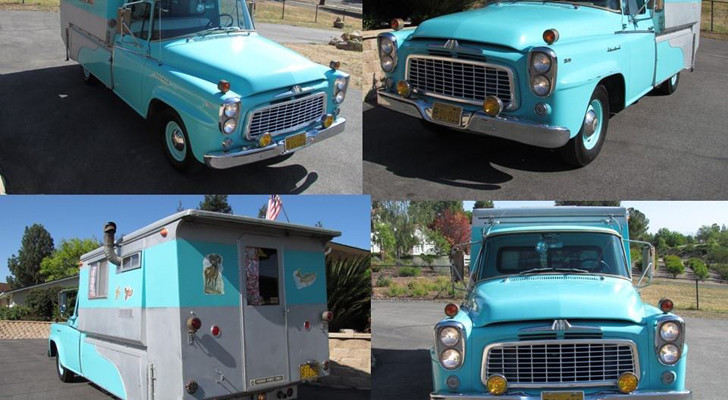 Vintage International Harvester Truck Camper Special Ordered In 1960