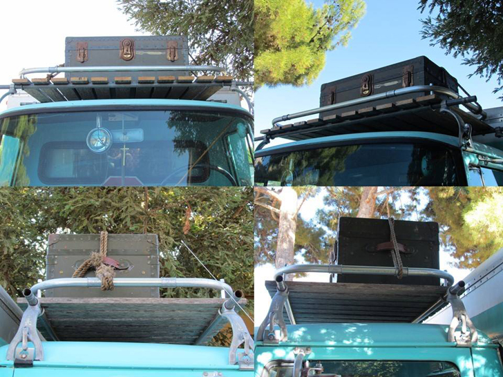 roof rack over cab