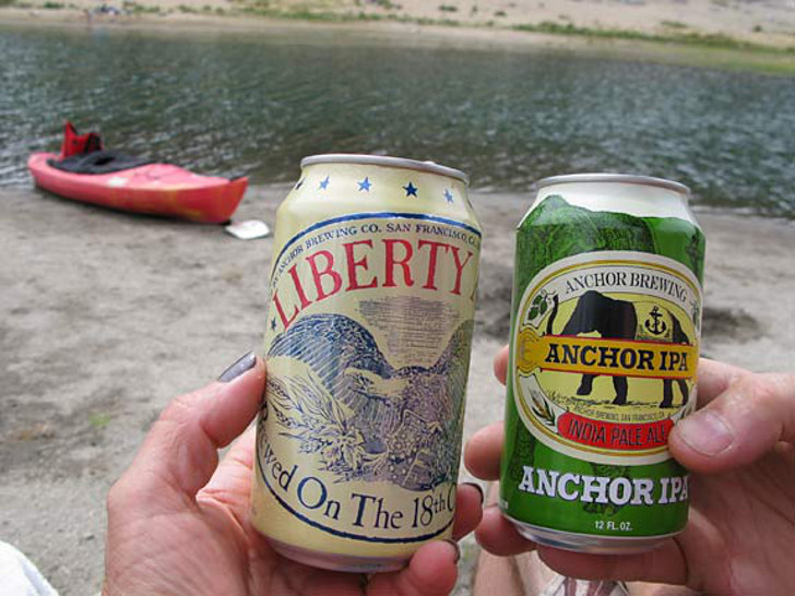canned craft beers for RVing
