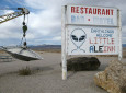 UFOs And Aliens Take Center Stage For Nevada Bound RVers At This Roadside Attraction