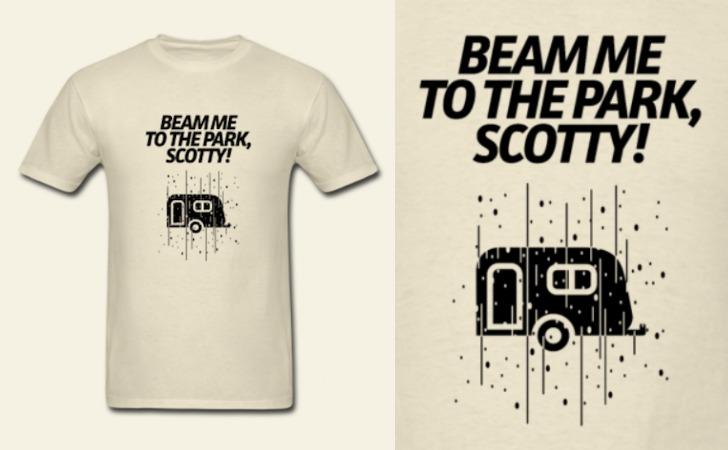 Beam Up RV Tee Shirt