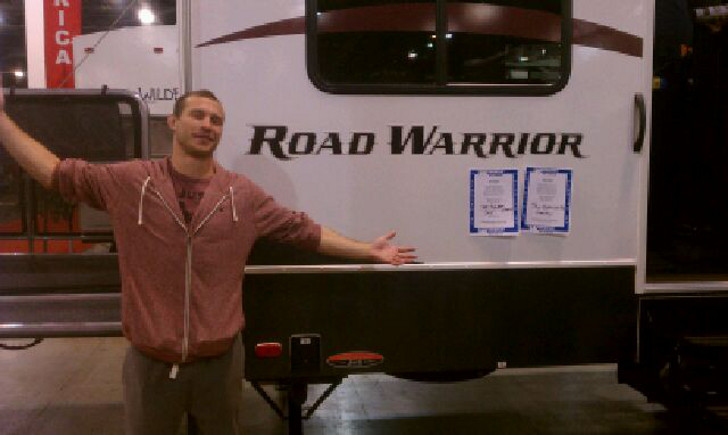 RVing UFC fighter