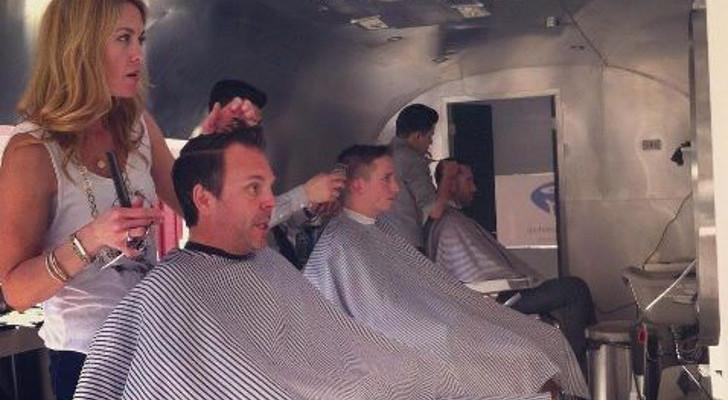 RV hair salon