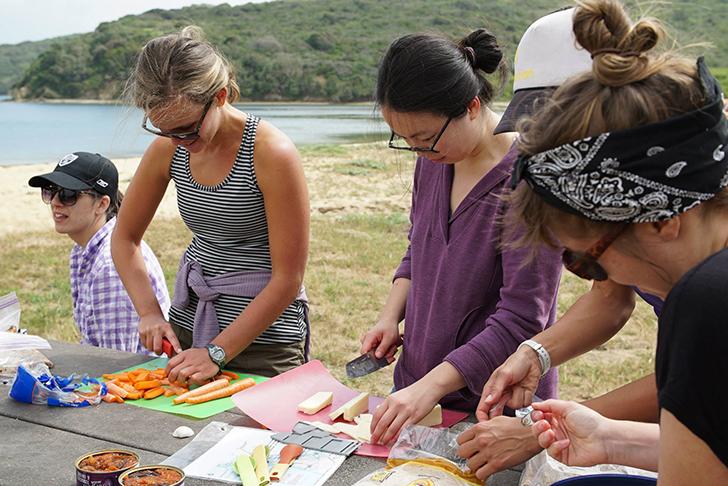 TrailMavens-camping-women-cooking