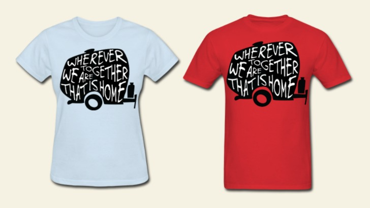 Wherever we are together RV Shirt
