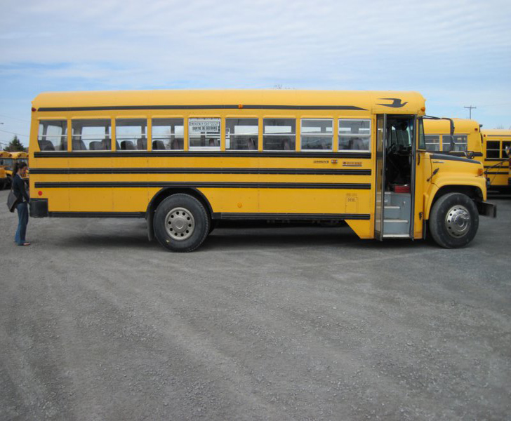 bus at auction