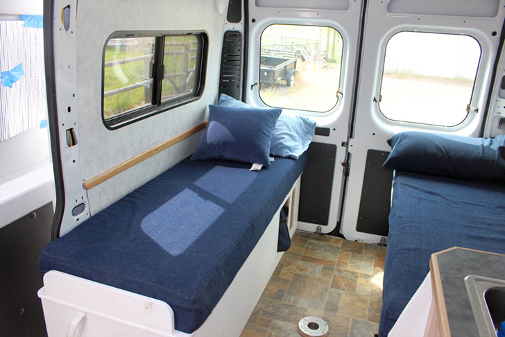 Cargovan Conversion GreenRV Beds