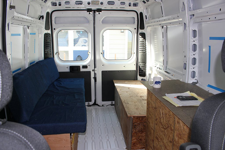 Detailed Walkthrough Of Converting A Cargo Van