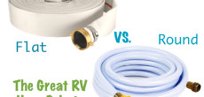 Flat RV Water Hose