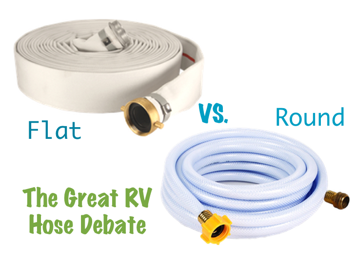 Check Tire Pressure >> Save Space And Reduce Hassle With A Flat RV Water Hose