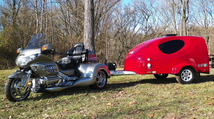 Aerodynamic Mypod Trailer From Little Guy Trailers