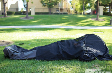 This Awesome Jacket Can Also Serve As Your Tent And Sleeping Bag