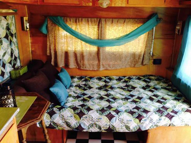 cozy master bed
