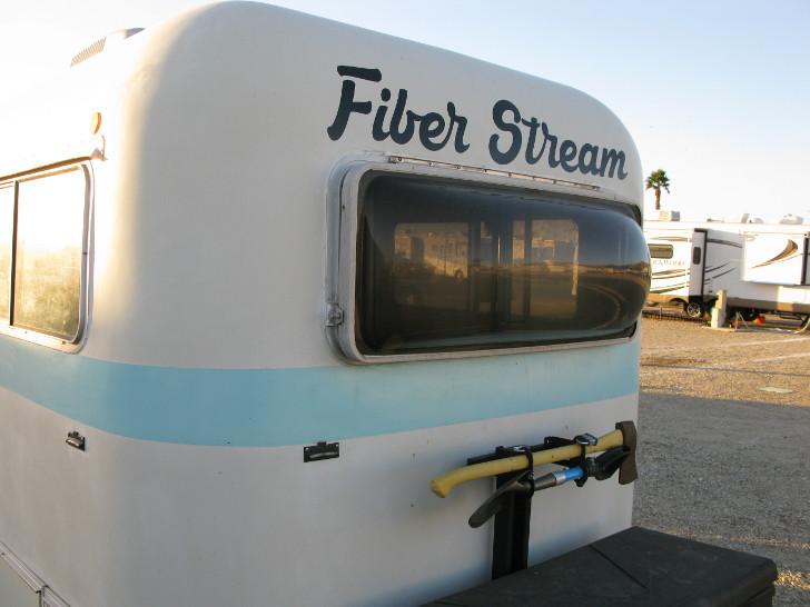 full-time RVing in a Fiber Stream