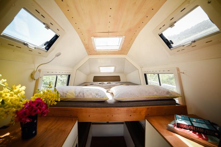 Coati Camper bunk area