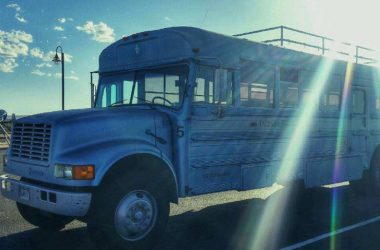 This Man Converted A School Bus With His Dad To Live The Good Life