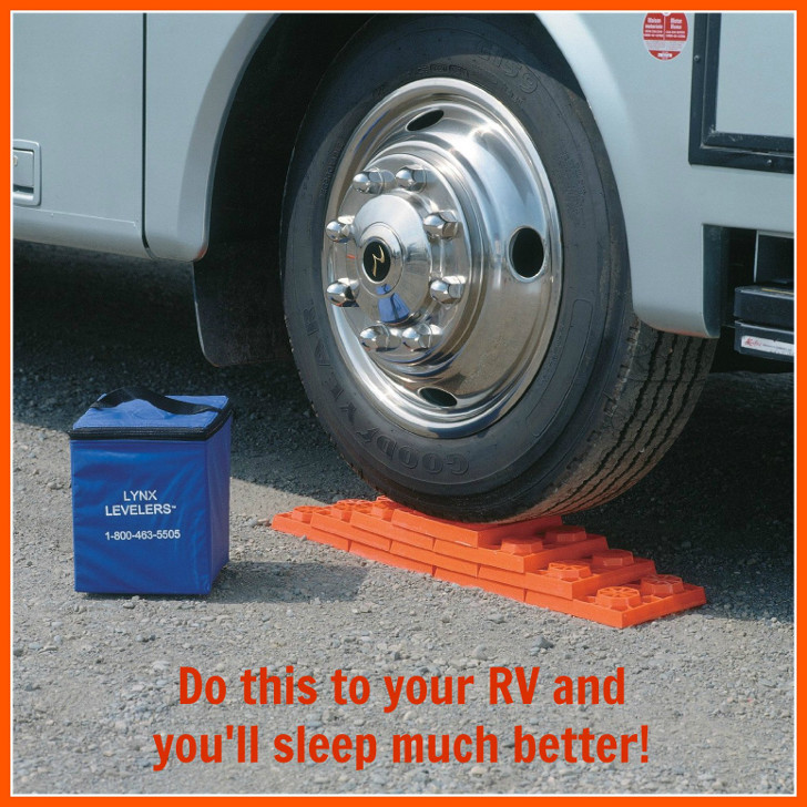How To Level RVs, Trailers On Uneven Ground