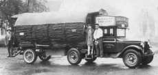 Almost Prehistoric Photos Of A 1920s Douglas Fir Cabin RV Built On A 3 Ton Truck