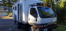 You Have To See The Transformation Of This Mitsubishi Fuso Overland Camper