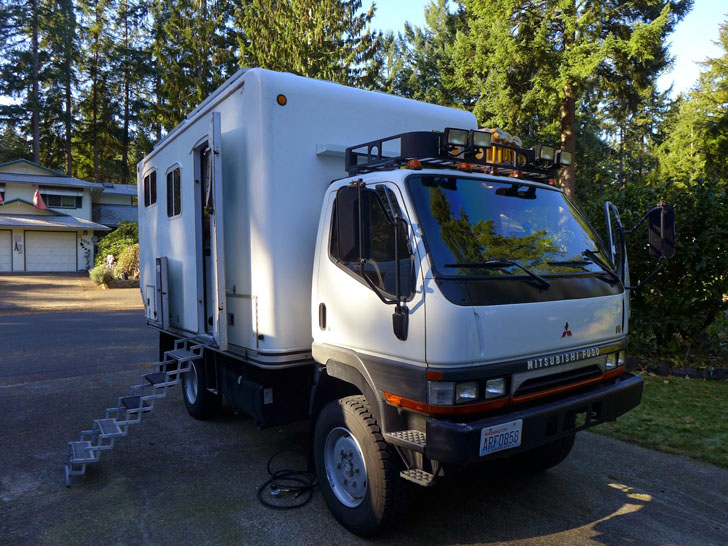 Diy Renovation Of A Mitsubishi Fuso Overland Camper