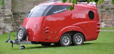 Futuristic TripBuddy Caravan Looks Like a Spaceship – But It's Available On Earth