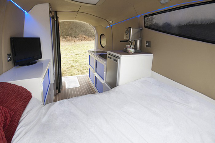 Futuristic Tripbuddy Caravan Big On Curves And Accessibility