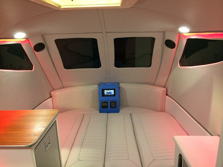 Futuristic Tripbuddy Caravan Big On Curves And Accessibility