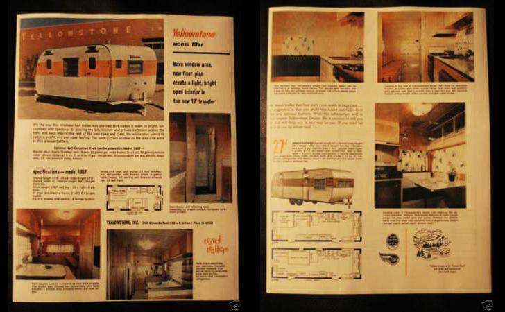 vintage magazine spread