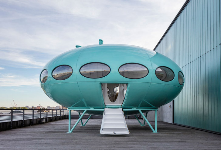 Futuro house after
