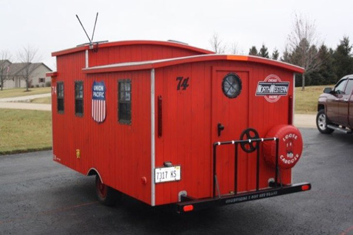 rear view caboose