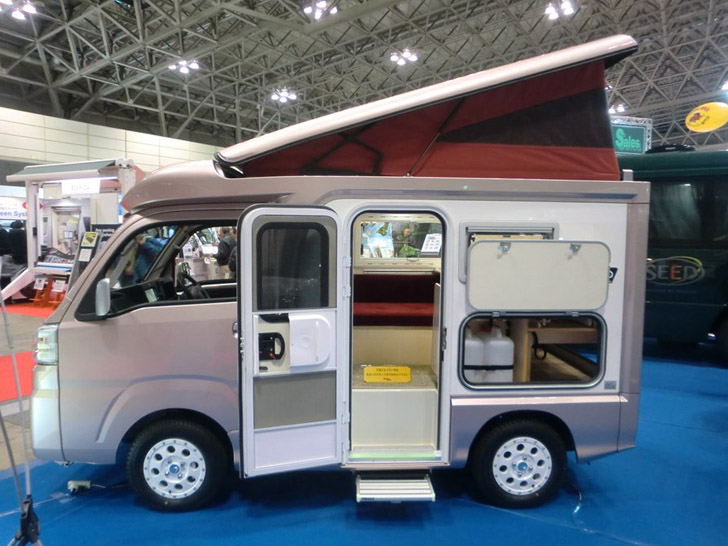 Some Highlights From The Japanese Camping Car Show