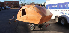 Build An Ultra Lightweight Teardrop Trailer With This Kit From A Boat Building Company