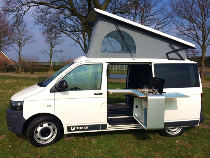 VW T6 Makes A Solid Platform For This Tonke Built Camper
