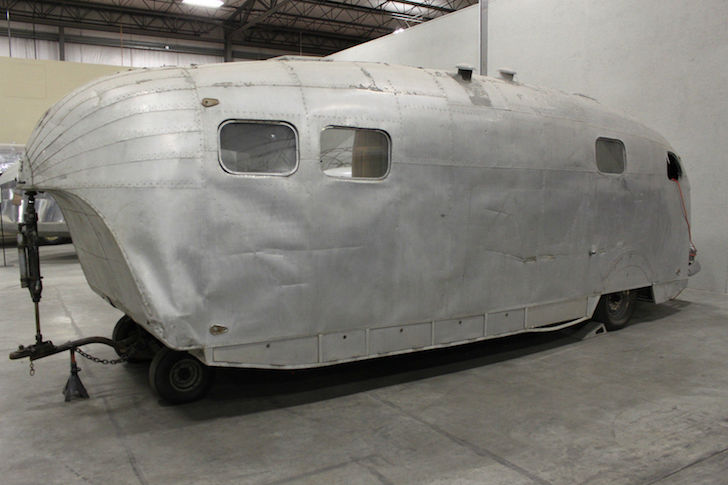 1941 Howard Hughes trailer