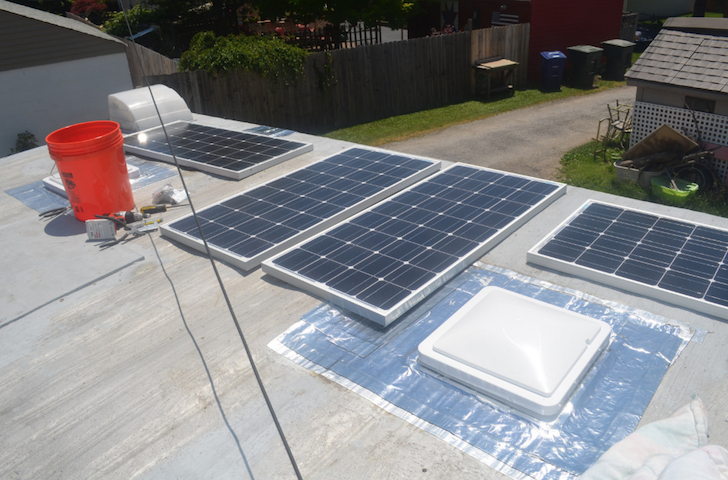400 watt solar panel system