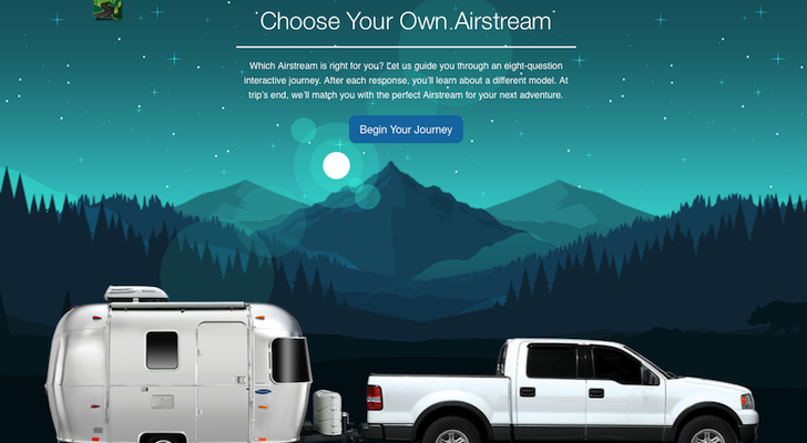 How To Choose The Best Airstream For You Using Airstream's Choose Your Own Airstream Feature