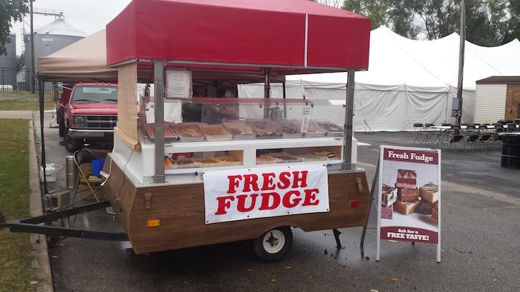 Coleman concession trailer