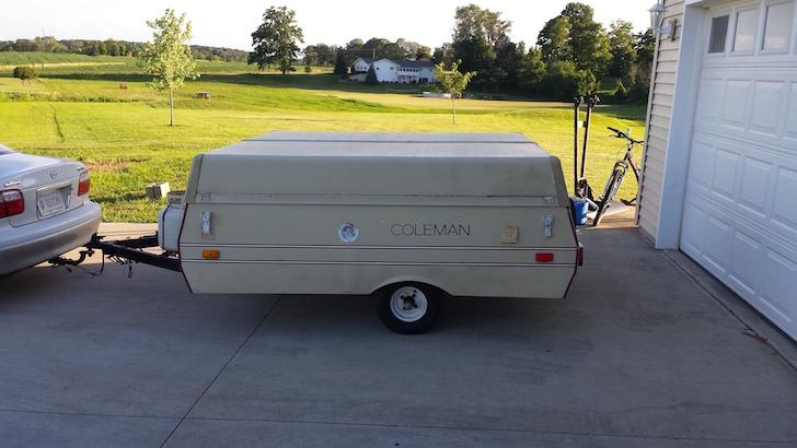 Coleman popup camper