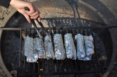 Make These Mouthwatering Breakfast Burritos Over The Campfire [RECIPE]