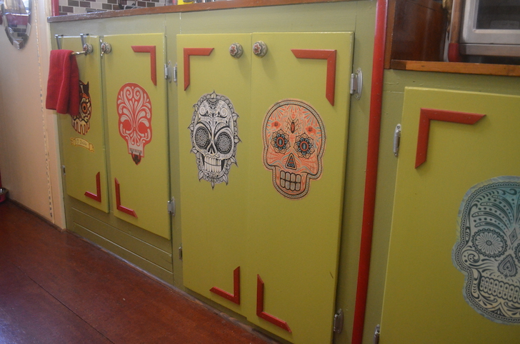 Dia de los Muertos door decorations