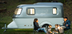 Nest Caravan Unites Chassis And Body In Monocoque Form