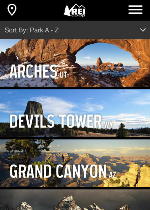 National Park Mobile Apps
