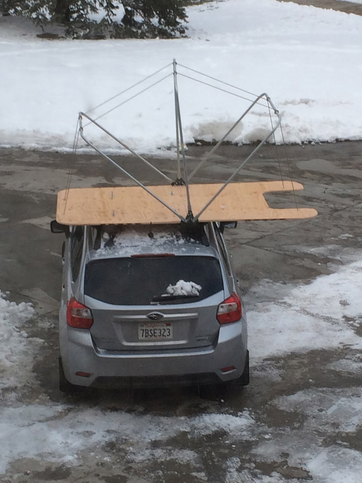 Build This Rooftop Tent Without Even Leaving Home Depot